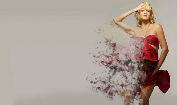 Dispersion Effect - Photoshop Tutorial