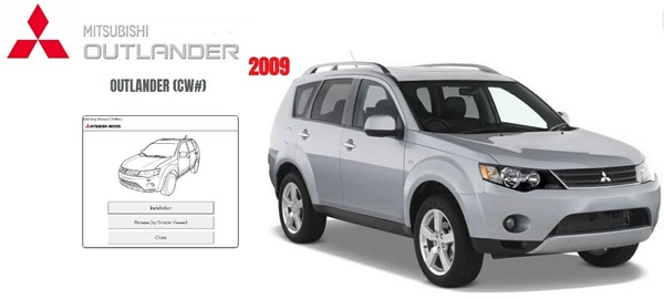MITSUBISHI OULANDER 2009 WORKSHOP MANUAL
