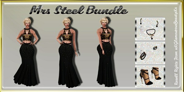 Mrs Steel Bundle Catty Only!!!