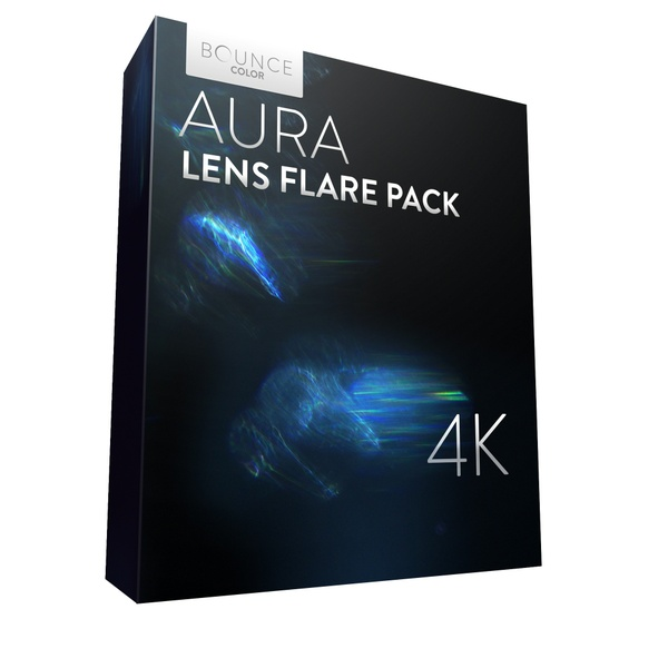 AURA Lens Flares 4K / Bounce Color