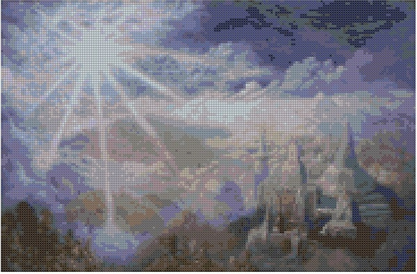 cross stitch pattern Mar-047c