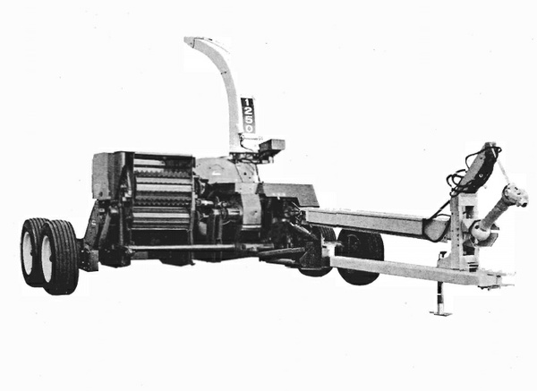 GEHL CB1250 Forage Harvester Parts Manual