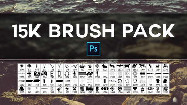 15k Photoshop Brush Pack