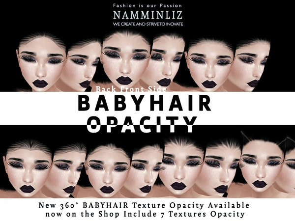 New imvu Baby Hair Opacity Textures 7 PNG