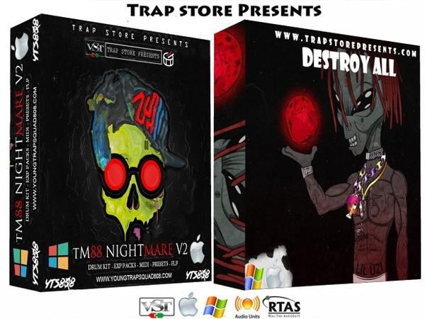 Trap Store Presents - TM88 Nightmare V2 & Destroy All Percs