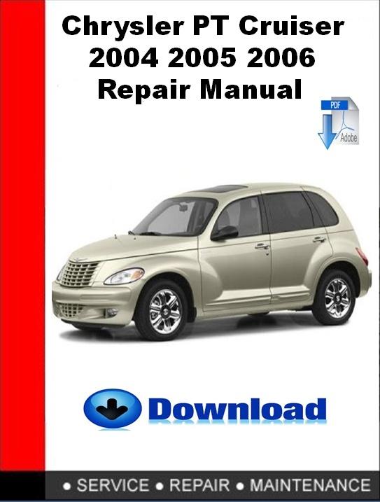 Chrysler PT Cruiser 2004 2005 2006 Repair Manual