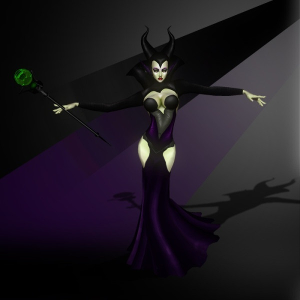 Halloween ~ Maleficent Costume