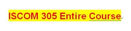 ISCOM 305 Week 2 Get There Navigation Technologies Customer Needs