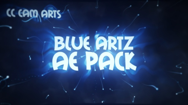 Blue Artz AfterEffects Pack [FREE]