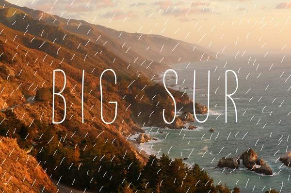 Big Sur 🌊
