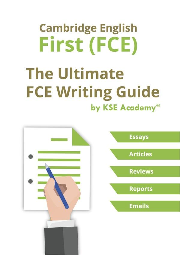 Cambridge English: First (FCE) Writing Guide
