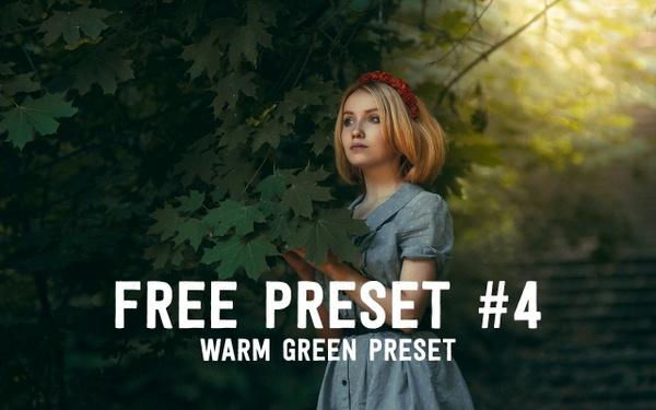 WARM GREEN PRESET