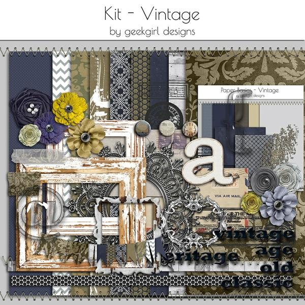 Vintage Kit by geekgirl designs