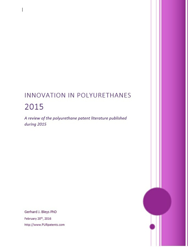 Innovation in Polyurethanes 2015.