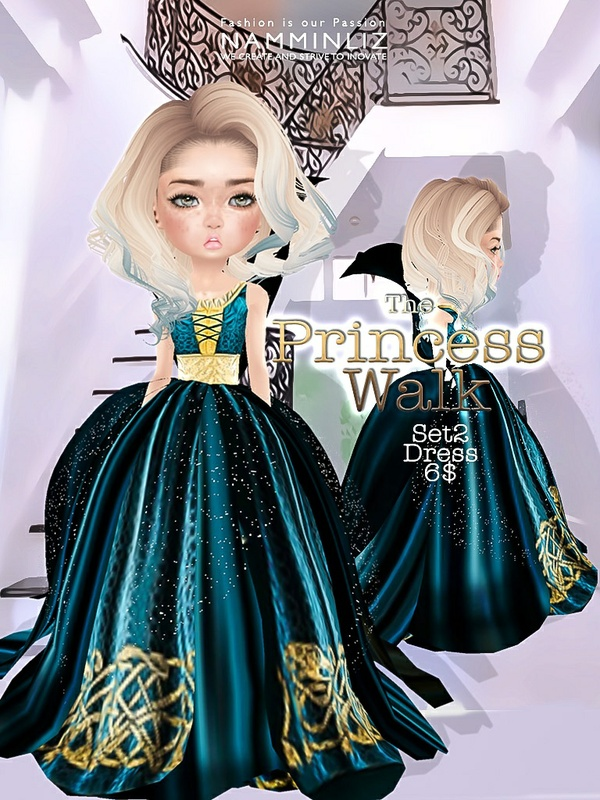 The Princess walk SET2 imvu Texture JPG delure