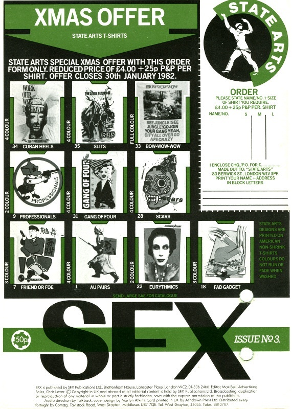 SFX AUDIO MAG 3 Side 2   Relive the 1980's