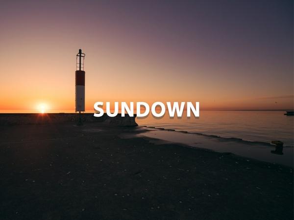 """""""Sundown"""" - Lightroom Preset"""
