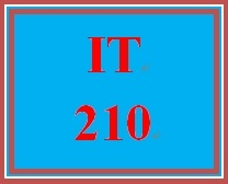 IT 210 Week 2 Checkpoint #2: Chapter 2 programming problem