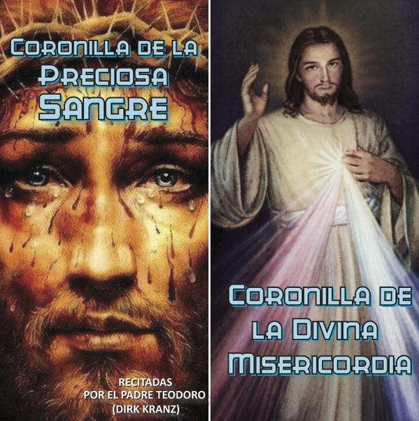 47. Coronillas de la Preciosa Sangre y de la Divina Misericordia.
