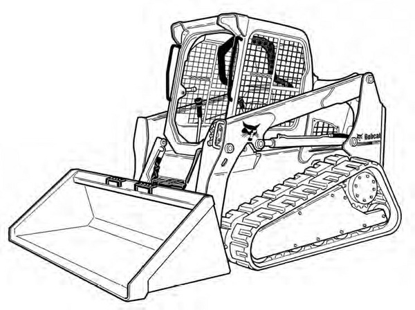 Bobcat T770 Compact Track Loader Service Repair Manual (S/N A3P811001 & Above  A3P911001 & Above)