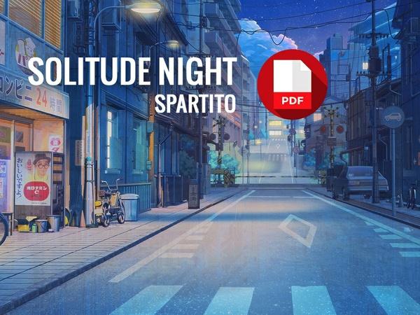 Solitude Night - Spartito per Pianoforte