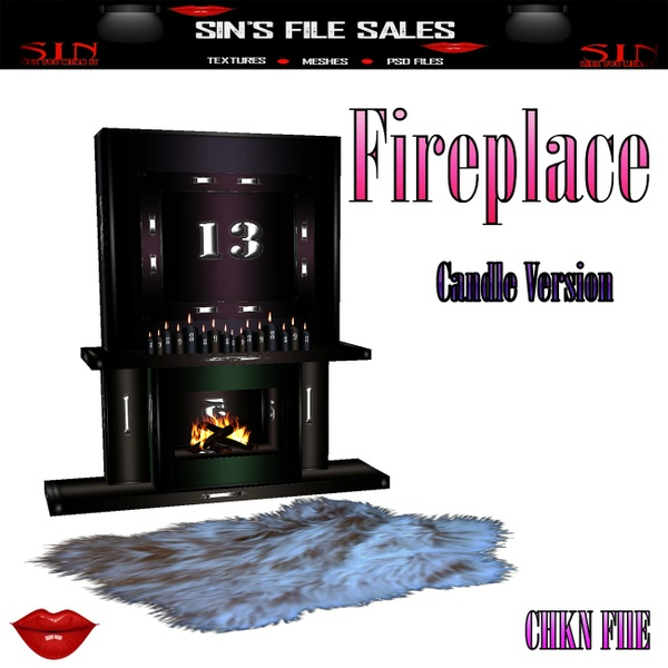 Fireplace*Mesh