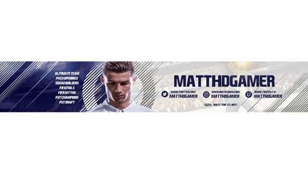 FIFA 18 BANNER TEMPLATE
