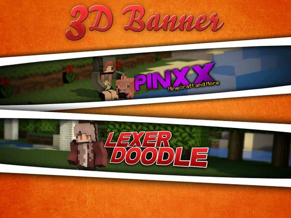 3D Banners