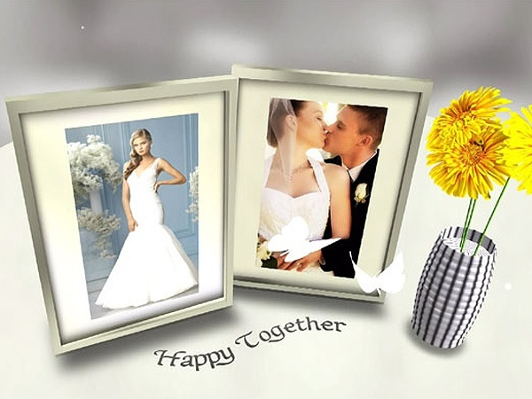 Blufftitler Template: Wedding Style 05