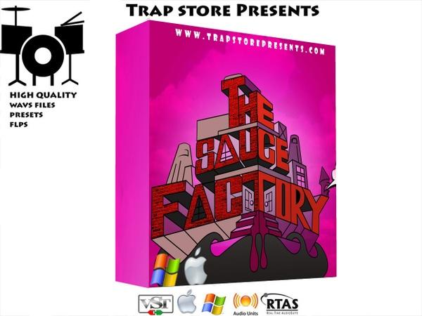 Trap Store Presents - The Sauce Factory [Kairatune VST]