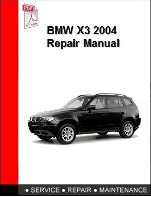 BMW X3 2004 Repair Manual