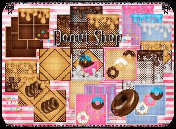 💎 Donut Shop Room Set