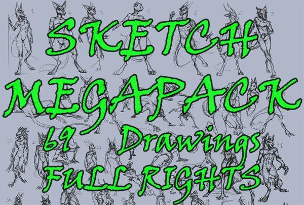 69 Sketch MEGAPACK