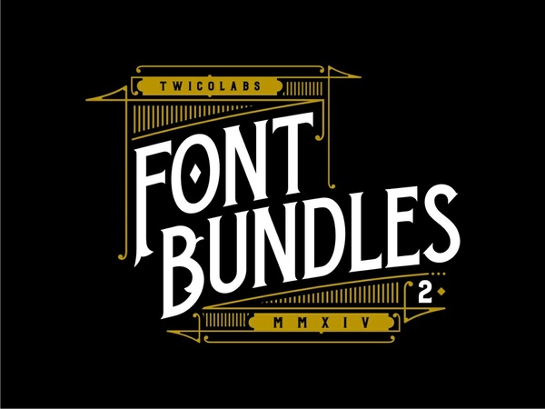 Twicolabs Font Bundle 2