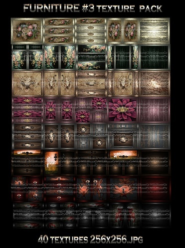 ~ FURNITURE DOORS #3 IMVU TEXTURE PACK ~