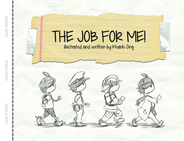 Childrens Book - A Job for Me! - Letter Sized