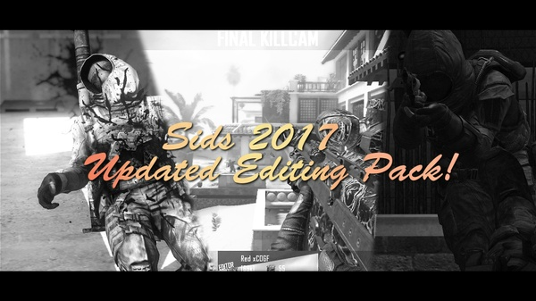 Sids Updated Editing Pack 2017. (06/08/2017!)