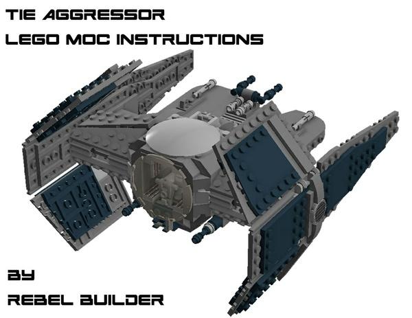 LEGO TIE Aggressor Instructions