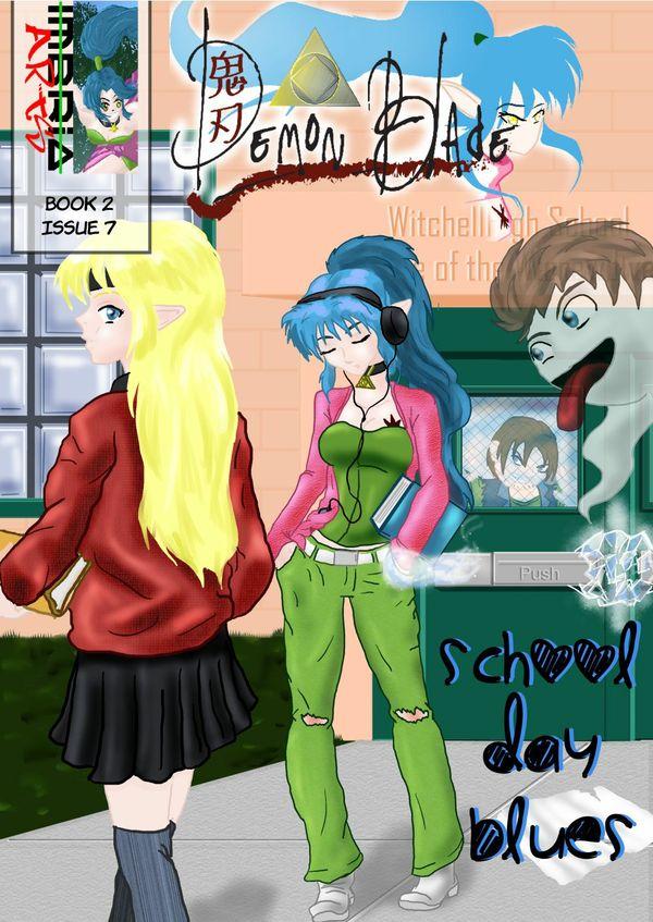 Demon Blade #7 School Day Blues