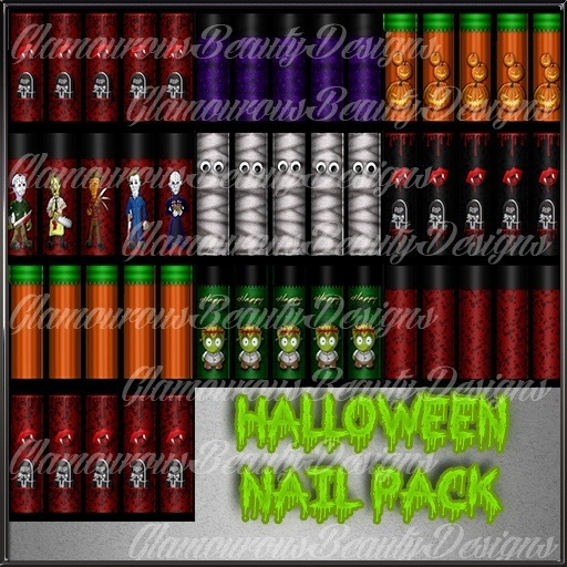 Halloween Nail Pack Master Resell Rights!!! 0/6 People