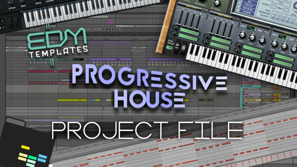 Ableton Live Progressive House Template 08.02