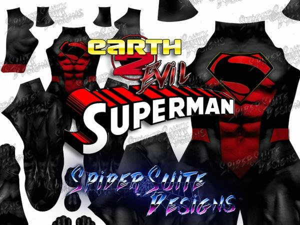 Earth 2 Evil Superman 2017 Pattern