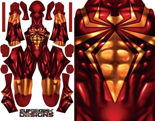 IRON SPIDER pattern file