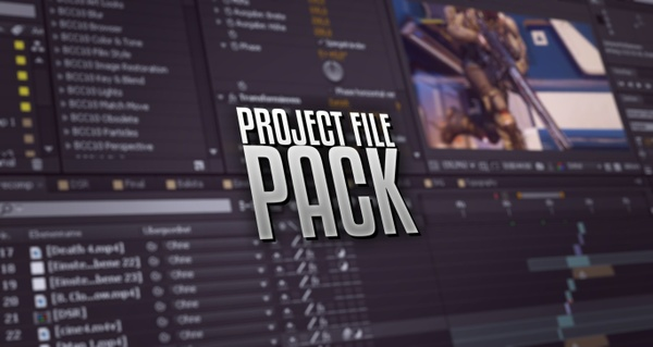 PROJECT FILE PACK (Including 4 Project Files/Details in Desc.)