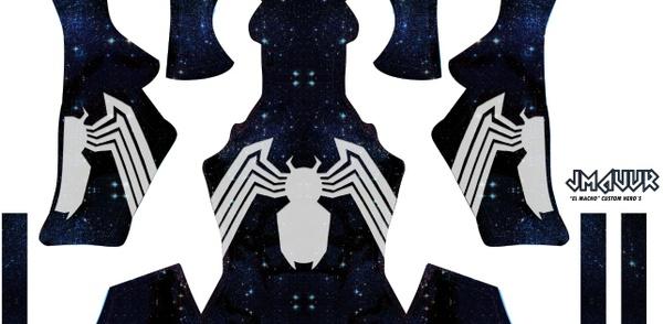 Spider-man Symbiote V2 (Galaxy)