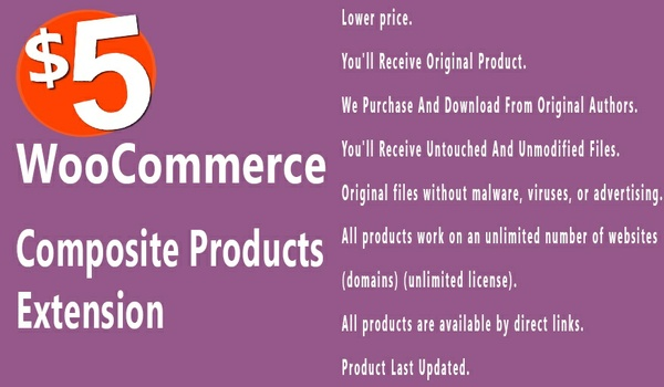 WooCommerce Composite Products 3.13.6 Extension