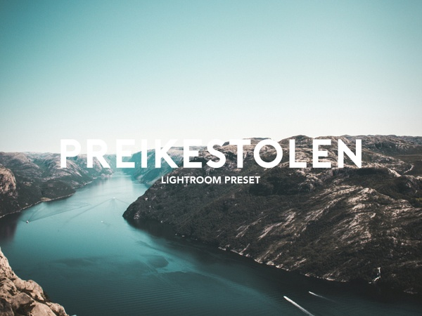 PREIKESTOLEN LIGHTROOM PRESET