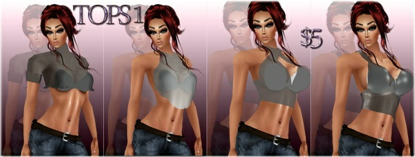 FASHION TOPS 1 Full Packages IMVU MESHES