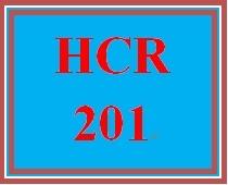HCR 201 Week 3 Describing CPT Coding Categories