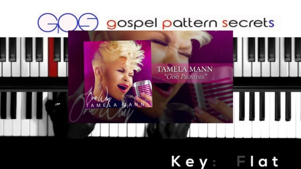 God Provides by Tamela Mann (Easy Piano Tutorial)
